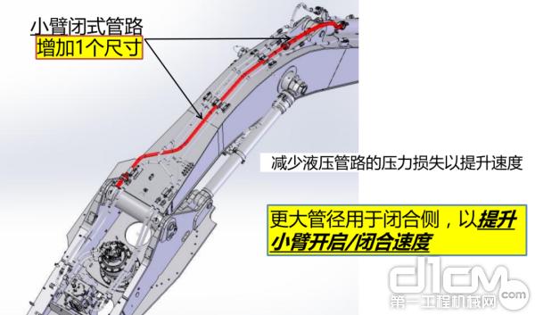 CX350C的作业频率要比同级别友机更快,这都是源自凯斯PCS™ 精准液压系统的功劳