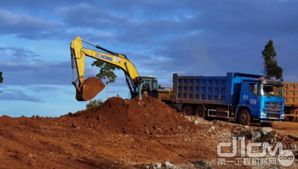 徐工挖机效率高出20%以上,油耗降低5%