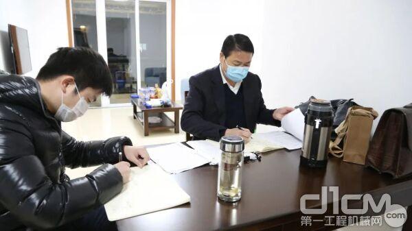 【董事长、常务副总驻厂办公】