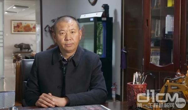 七台河市安兴工程机械租赁站总经理 罗运涛
