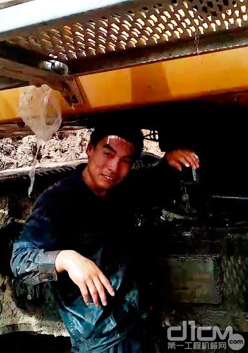 北京三一智造豫晋分公司的一名售后服务工程师唐静