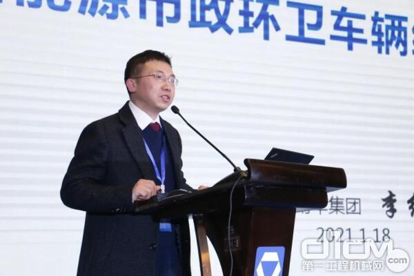吉利新能源商用车集团增程式销售公司总经理李红艳