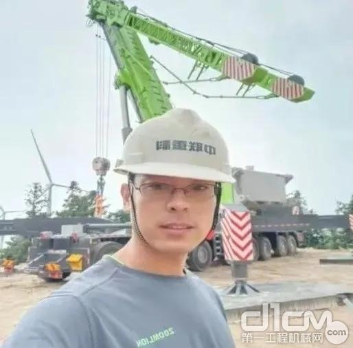 服务工程师马庆贺现场跟车图