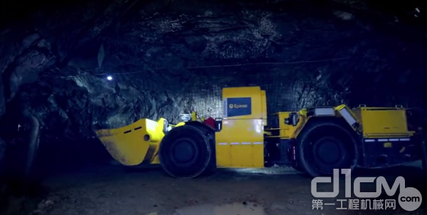 安百拓纯电池铲运机带给您更高效安全的地下体验