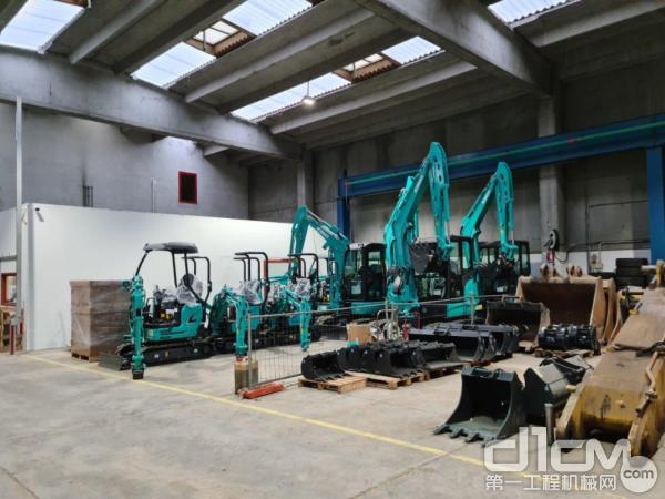 神钢建机大力扩展在意大利的业务