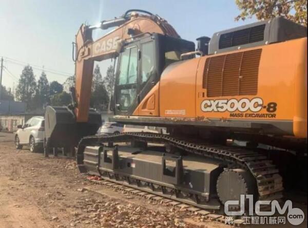 """凯斯""""CXC-8""""系列挖掘机"""
