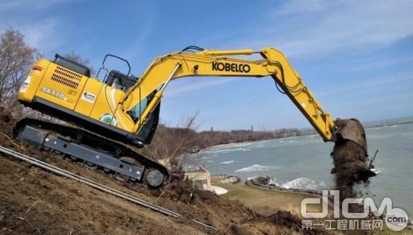 神钢SK170LC挖掘机是受停产影响的机器之一