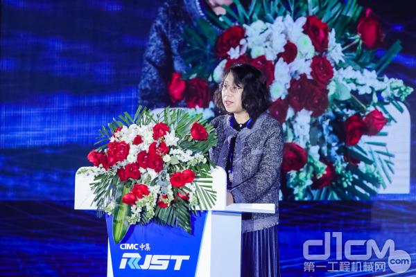 中国混凝土与水泥制品协会师海霞副秘书长发言