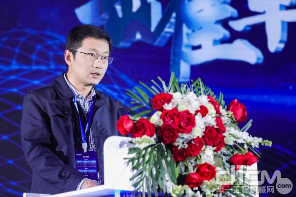 华东理工大学化工学院副院长凌昊发言