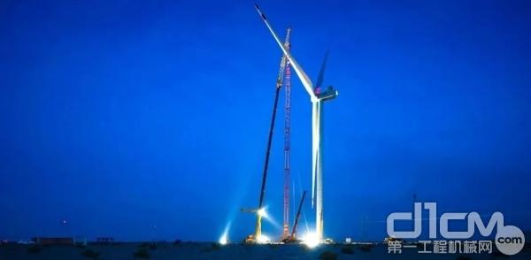 风电大吨位吊车闲置问题严重,超百台吊车待业寻租
