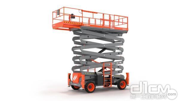 新品速递!斯凯杰科(Skyjack)发布70英尺越野剪叉SJ9664 RT