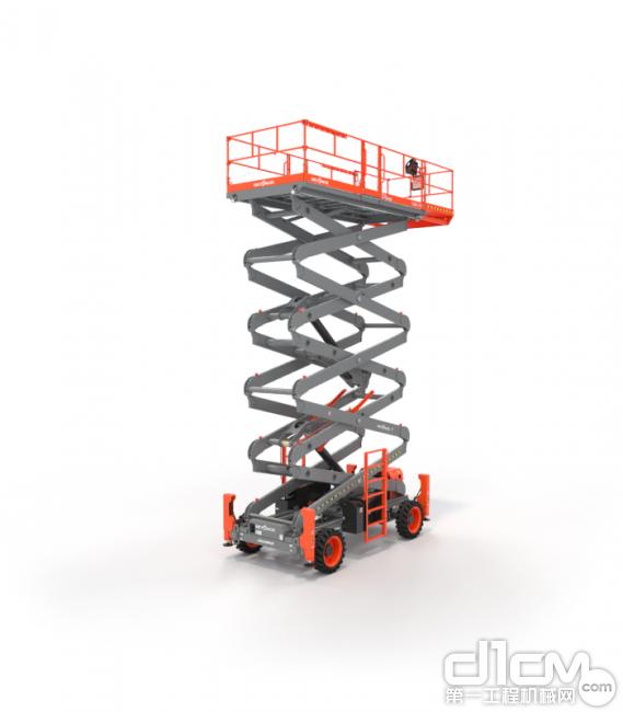 斯凯杰科(Skyjack)发布70英尺越野剪叉SJ9664 RT