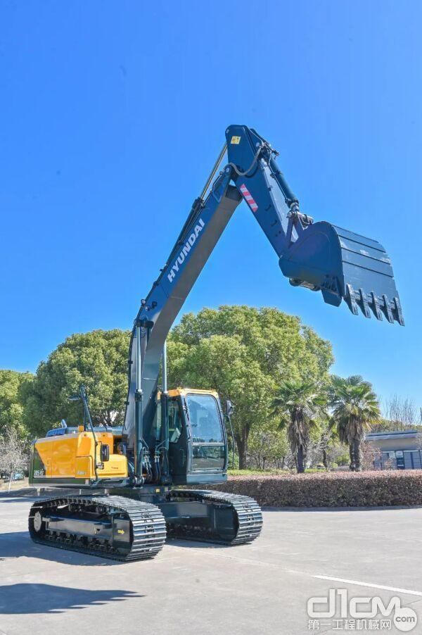 现代全新R205VS挖掘机