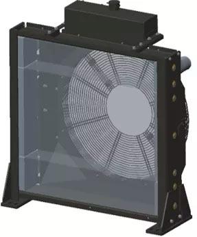 单层散热器