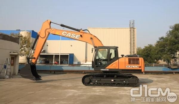 凯斯CX210C-8<a href=http://product.d1cm.com/wajueji/ target=_blank>挖掘机</a>