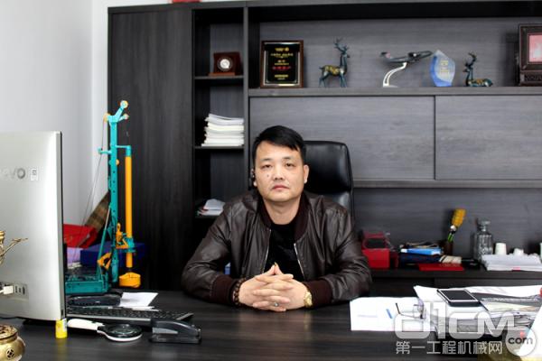 杭州南坤建设有限公司总经理夏振涛