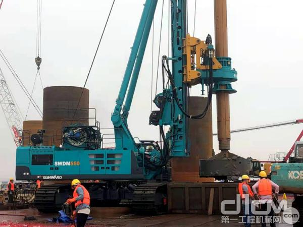山河智能SWDM550旋挖钻机