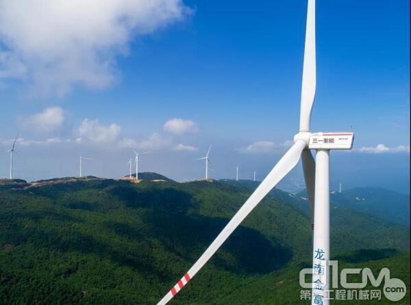 三一重能以3.72GW的新增装机容量,已成功跻身全球风电整机制造商前十