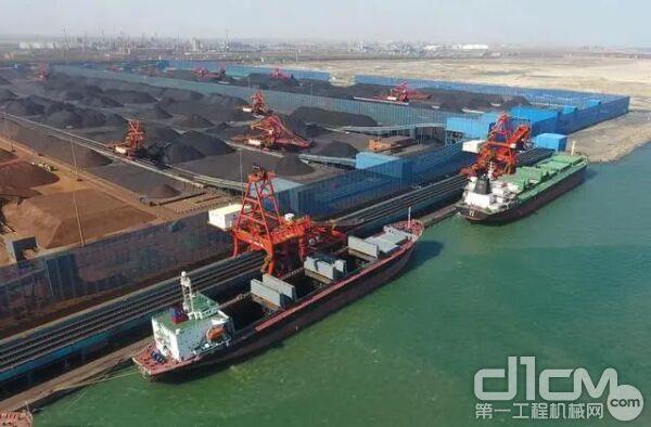 京唐港 煤炭装卸中