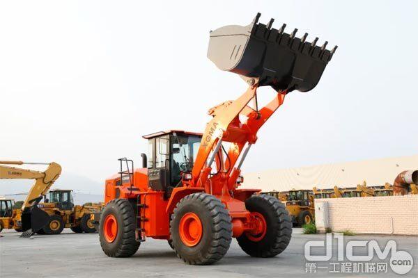 最新上市的厦工XG968N轮式装载机