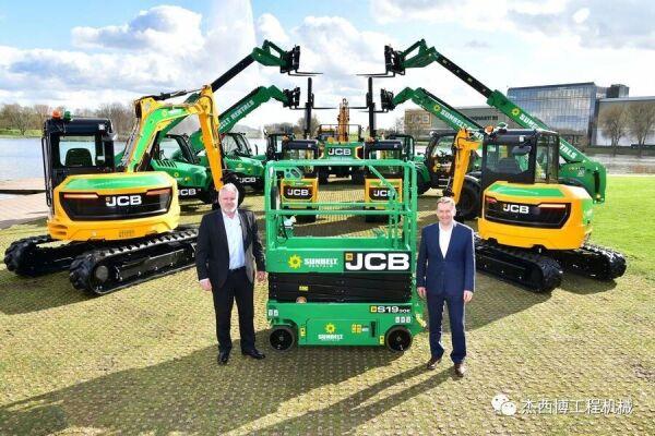 杰西博(JCB)喜获单笔2100台设备订单!