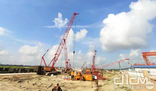 帕德玛大桥工程建设