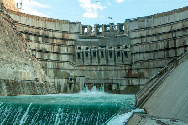 白鹤滩水电站