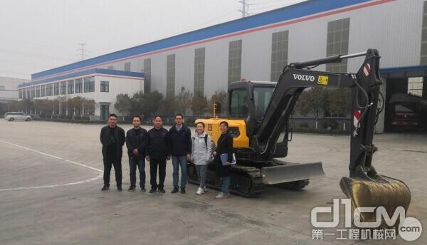 沃尔沃建筑设备济南研发中心项目团队