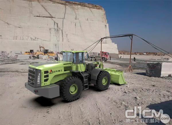 山东临工5吨电动装载机