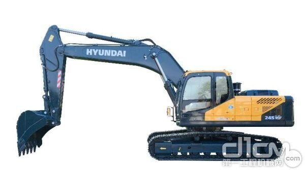 现代R245VS履带式液压挖掘机