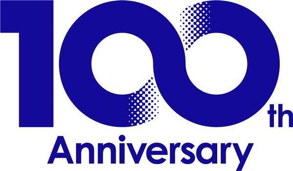 小松100周年纪念标志