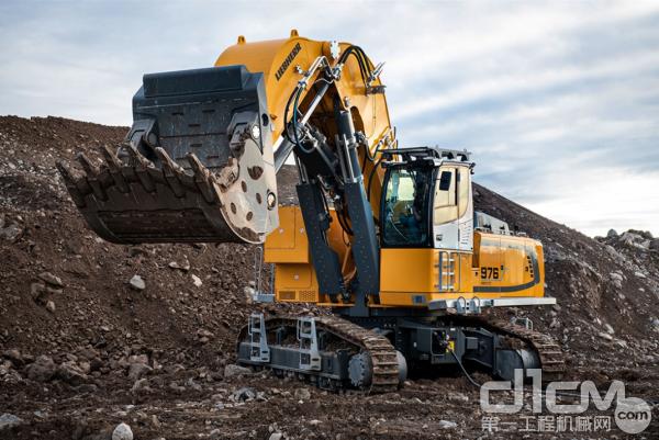 利勃海尔R 976-E 履带式挖掘机