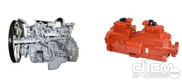 雷沃FR350E₂-HD采用原装进口五十铃6HK1发动机