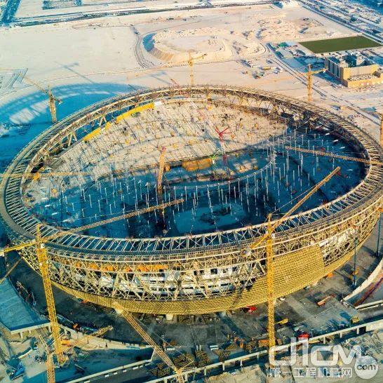 卡塔尔 2022世界杯主场馆卢赛尔体育场