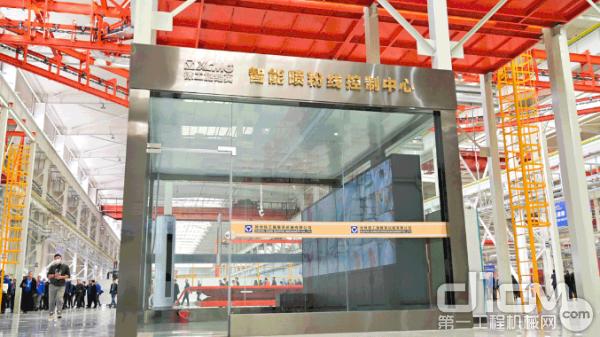 徐工以数字化赋能智能制造,建成混凝土高端装备智能化制造基地并投产使用