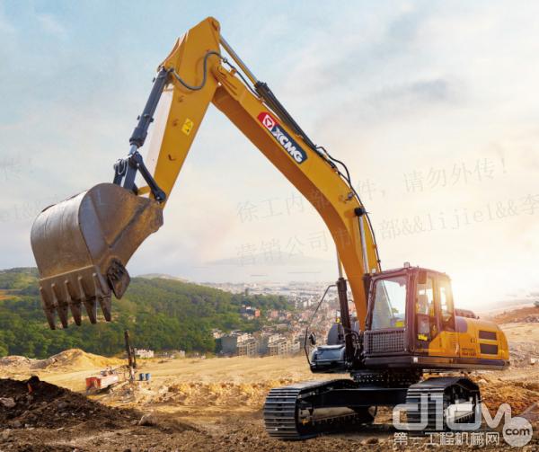 XE310DA可广泛应用于中小型矿山、市政、水利、公路桥梁建设等土石方工程