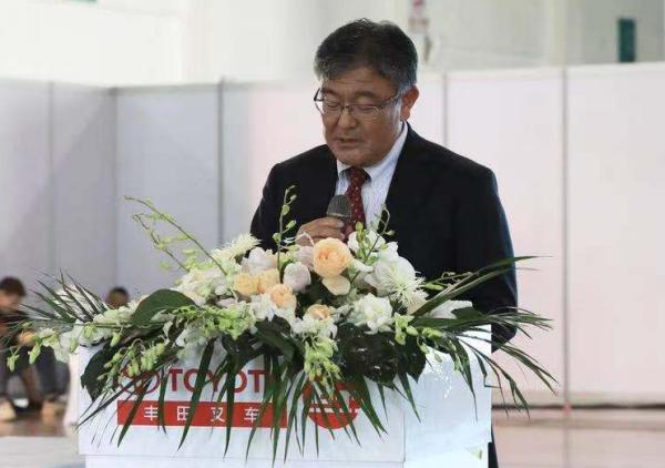 丰田产业车辆(上海)有限公司总经理山村圭弥