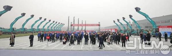 1月6日,山河工业城三期项目开工