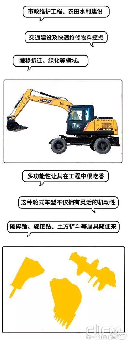 轮挖产品特性