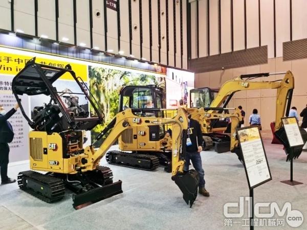 Cat®(卡特)迷你挖亮相第十一届江苏国际农业机械展览会
