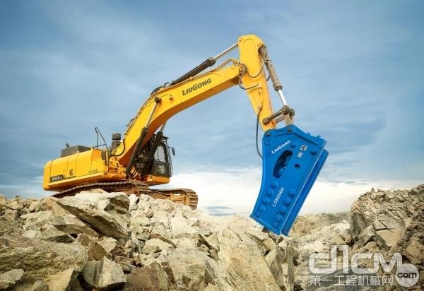 柳工CLG956EHD挖掘机