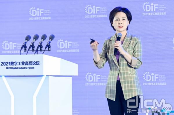中国工业互联网研究院院长徐晓兰