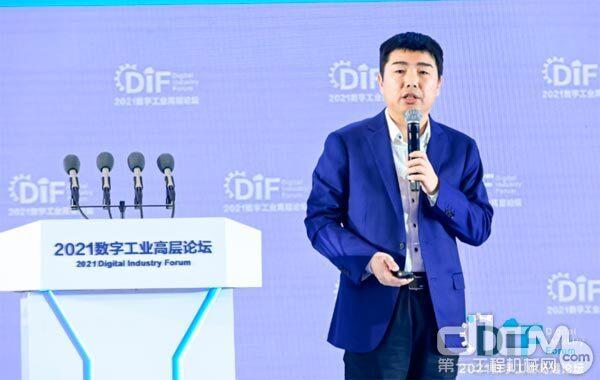 江苏徐工信息技术股份有限公司CEO张启亮