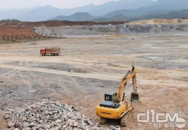 稳定高效,柳工挖掘机在矿山书写品质传奇
