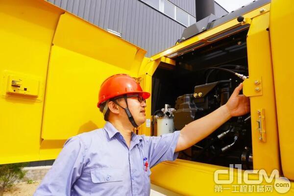 液压、油位等全方面检测