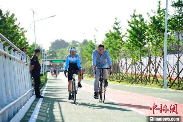北京将建设二环慢行系统