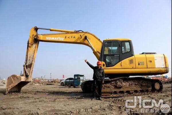 邵老板的言语中,充满了对于小松挖掘机经久耐用、可靠高效的肯定