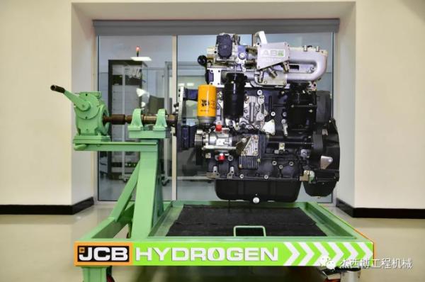 JCB氢燃料活塞发动机