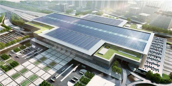 北京丰台站改造工程示意图