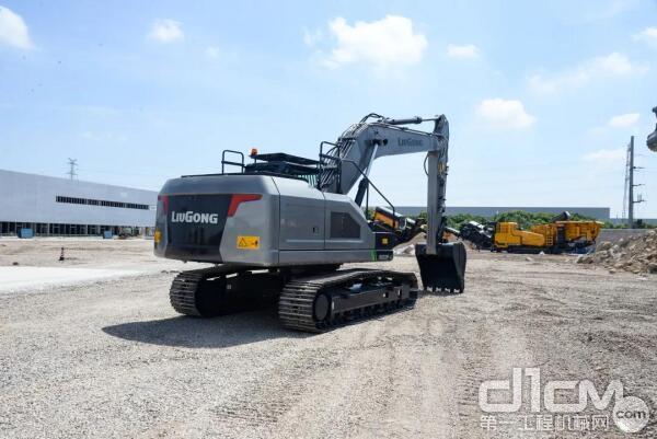 柳工CLG922F-E电动挖掘机